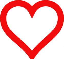 Heart-shaped clipart heart shape