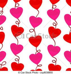 Heart-shaped clipart icon