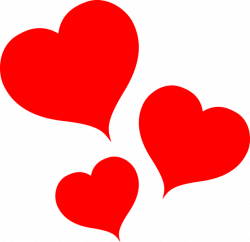 Heart-shaped clipart love symbol