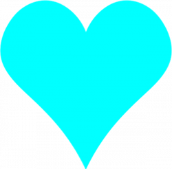 Heart-shaped clipart plain