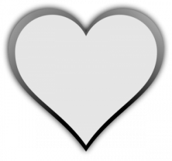 Heart-shaped clipart transparent