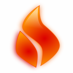Flames clipart heat