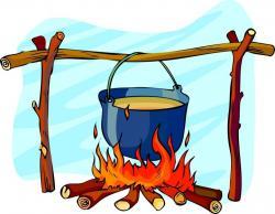 Camp Fire clipart campout