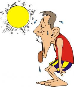 Heat clipart cartoon
