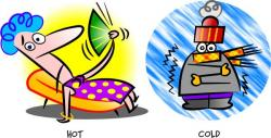 Heat clipart hot and cold