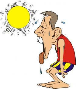 Heat clipart hot climate