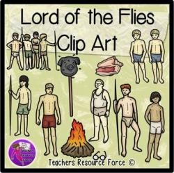 Bonfire clipart lord the fly
