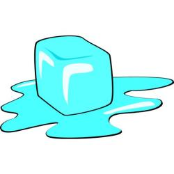 Ice Cube clipart freezing point