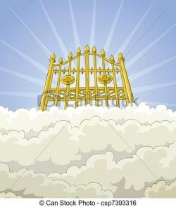 Haven clipart gates opening