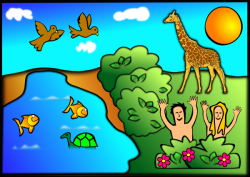 Adam And Eve clipart Garden Of Eden Clipart