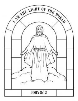 Heaven clipart jesus the light