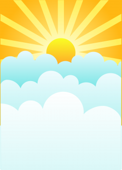 Heaven clipart sunshine