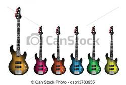 Heavy Metal clipart electric guitar