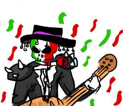 Heavy Metal clipart mariachi instrument