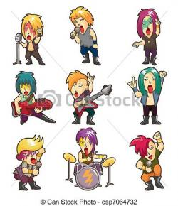 Heavy Metal clipart rock music