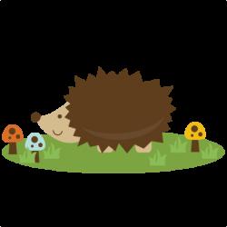 Porcupine clipart cute hedgehog
