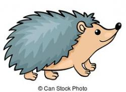 Drawn hedgehog cartoon