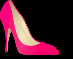 Sandal clipart pink shoe