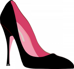 Mauve clipart stiletto heel