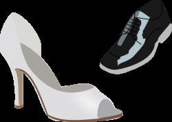 Veil clipart wedding shoe