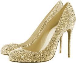 Glitter clipart gold heel