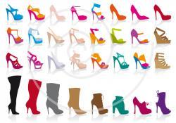 Heels clipart fashion illustration