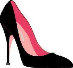 Heels clipart fashion shoe