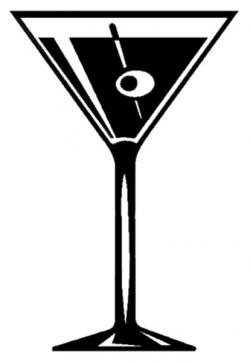 Wodka clipart martini glass