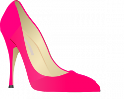 Heels clipart pink high heel