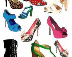Heels clipart sandal
