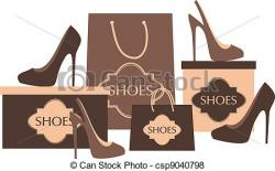 Heels clipart shoe shopping