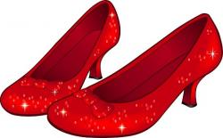 Wizard Of Oz clipart ruby slipper