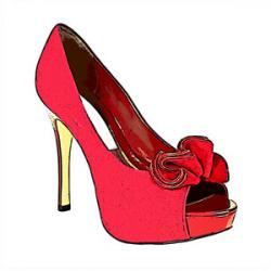Fashion clipart high heel