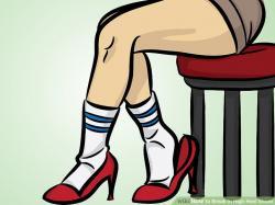 Heels clipart two foot