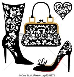 Illustration clipart fashion