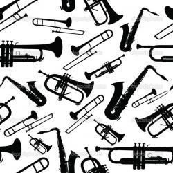 Heh clipart jazz instrument