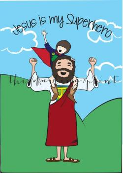 Heh clipart jesus loves child