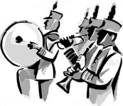 Heh clipart marching band instrument