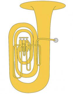 Brass clipart tuba