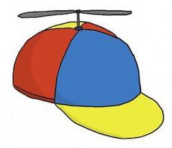 Capped clipart bonnet