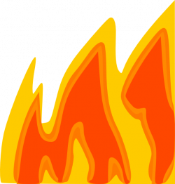 Flames clipart large