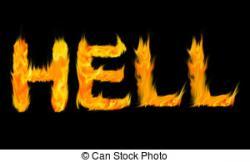 Hell clipart fiery
