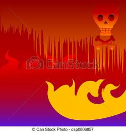 Hell clipart firey