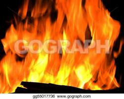 Hell clipart flames background