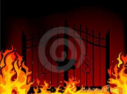 Hell clipart gates