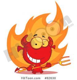 Hell clipart rocket fire