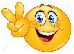 Hello! clipart emoticon
