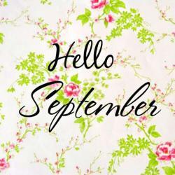 Hello! clipart september