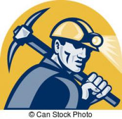 Caol clipart mine worker