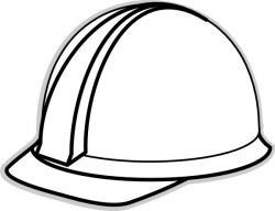 Helmet clipart construction worker